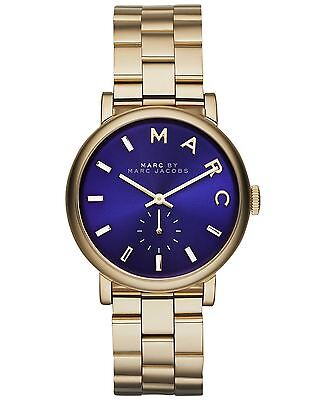 Marc by Marc Jacobs Women's Baker Gold-Tone Bracelet Watch MBM3343
