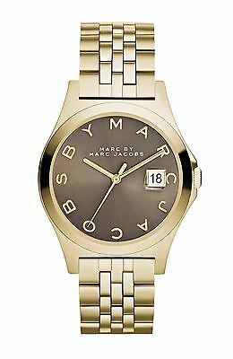Marc by Marc Jacobs Women's Slim MBM3349 Gold Stainless-Steel Quartz Watch $250