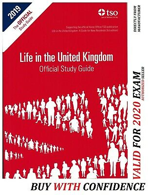 Latest Life in the UK United Kingdom Settlement Test Preparation Book 2020 - Std