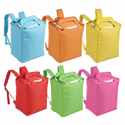19L Insulated Backpack Rucksack Cooler Bag Lunch Food Can Ice Box Summer Camping