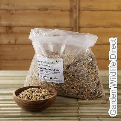 5kg Garden Wildlife All Year Round Bird Seed Feed Mix for Wild Garden Birds