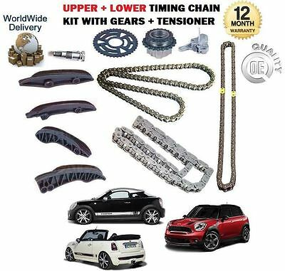 For Bmw Mini Clubman Countryman 2011--> Upper + Lower Timing Chain Kit