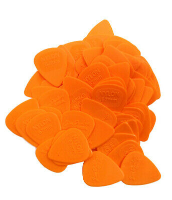 Dunlop Guitar Picks  Nylon MIDI  72 Pack  .67mm  Orange