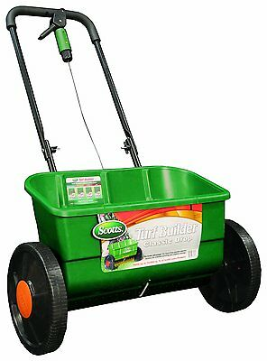 BRAND NEW! Scotts 76565 Turf Builder Classic Drop Spreader, (Up to 10,000-sq ft)