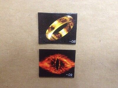 Stern Lord of the Rings Pinball Machine Spinner Decals Stickers