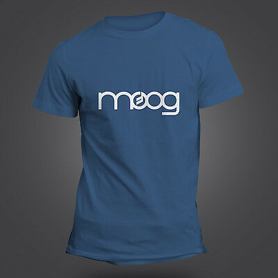 Moog T-Shirt - Synthesizer - Synth - Studio - Producer - Analog - 13 Colours