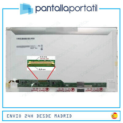 "15.6""led Lcd B156Xw02 V.2 H/w:4A F/w:1 Izquierda Screen Pantalla Brillo Portatil"
