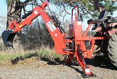 7' Dig Compact Self Contained 3pt Tractor Backhoe Cat.I 30Hp+ (FH-BH7)