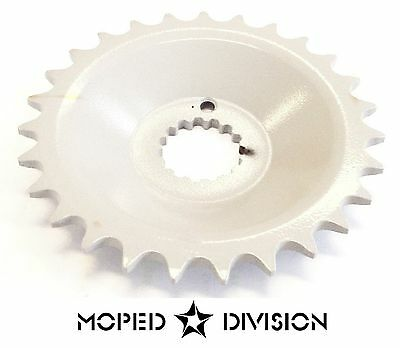 TOMOS A55 27 TOOTH DISHED FRONT SPROCKET Streetmate Revival Arrow Youger