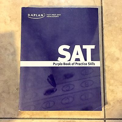 Kaplan test prep and admissions sat purple book of practice sats free shipping kaplan test prep sat purple book of practice sats paperback fandeluxe Choice Image