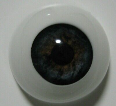 Reborn doll eyes 22mm Half Round  BLUEBERRY
