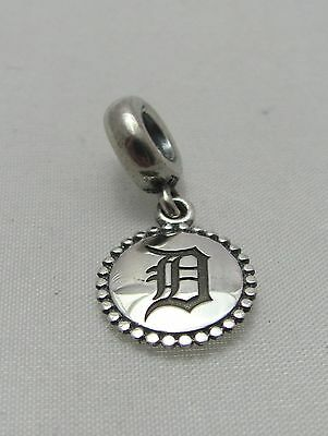 New Authentic Pandora 925 Sterling Silver Charm Detroit Tigers MLB Baseball