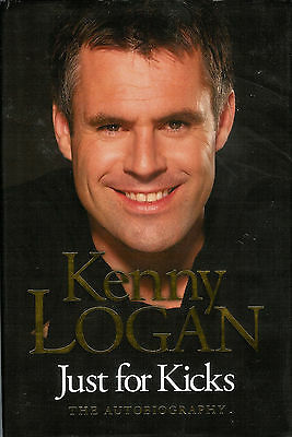 Kenny LOGAN London Wasps & Scotland RUGBY BOOK Just for Kicks Michael Aylwin