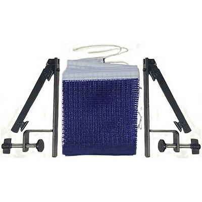 Table Tennis Net Post Suit 6' Standard Ping Pong Stand Set With Net Mesh New