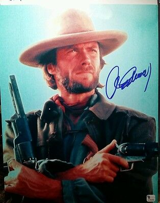CLINT EASTWOOD SIGNED Outlaw Josey Wales 8x10 Photo - Proof