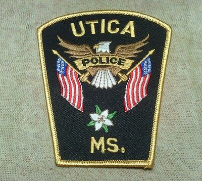 MS Utica Mississippi Police Patch