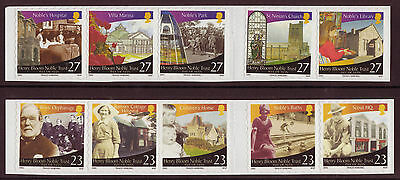 Isle Of Man 2003 Henry Bloom 2 Self Adhesives Strips Of 5 Unmounted Mint, Mnh