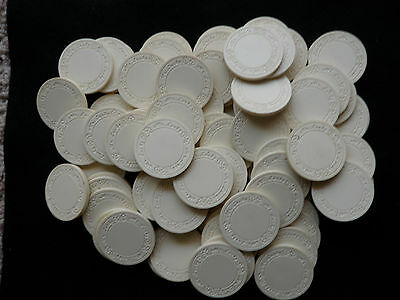 100 Mr. Lucky Poker Chips - Old Vintage Rare Gambling Gaming Good Luck Classic
