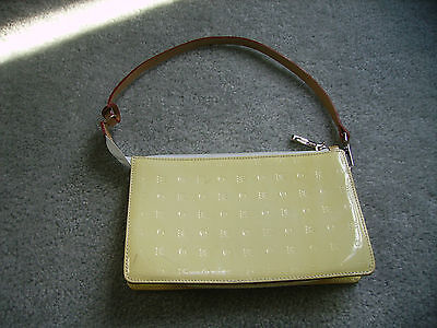 yellow small top zip handbag by genuine leather Arcadia  made in Italy