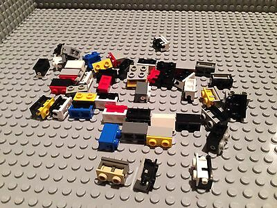 Lot Of Lego 45 Small Hinges / /1x2 / Build City / Moving Parts / Pivot / Mixed