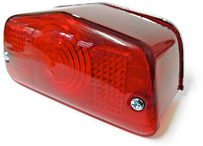 For 1937-1973 BSA British Motorcycle Brand New Comp Tail Light Lamp Reproduction