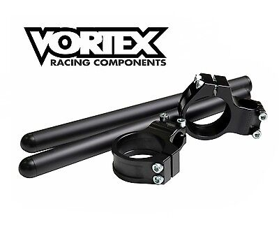 Vortex 50mm Clip-On Handle Bars - GSXR RGV R1 R6 CBR 1000RR VTR RC51 ZX10R 675