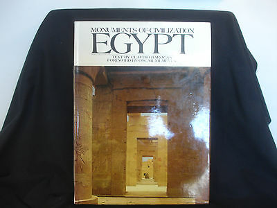 Monuments Of Civilization Egypt Text By Claudio Barocas Picture Color Book