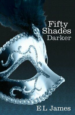 Fifty Shades Darker, James, E L Book The Cheap Fast Free Post