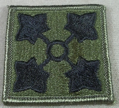 US Army 4th Infantry Division Subdued Merrowed Edge Patch