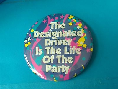 WAFFLE HOUSE COLLECTORS / TRADING PIN DESIGNATED DRIVER IS THE LIFE OF THE PARTY