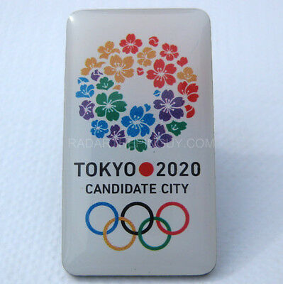 2020 Tokyo Summer Olympic Candidate City Pin