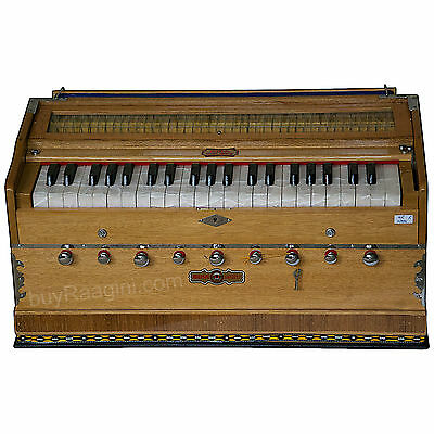 Harmonium|Bina Sangeet Harmonium|Natural Color|Coupler Funct.|42 Key|3½|Bjb-2