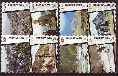 New Zealand 2004 Lord Of The Rings Set Of 8 In Pairs  Unmounted Mint, Mnh
