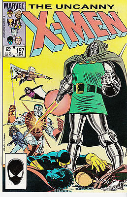 UNCANNY X-MEN 197...NM-...1985...Doctor Doom!...Chris Claremont...Bargain!
