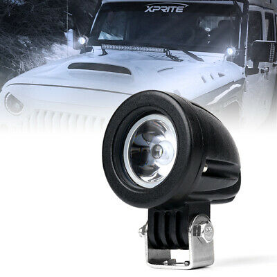 """2"""" Inch 10W Spot CREE LED Light Offroad Round Work Lamp For Truck 4WD ATV 4X4"""