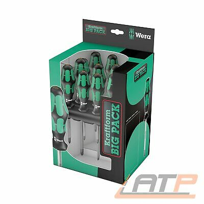 Wera Kraftform Big Pack 300 16 Tlg. 05105630001 Schraubendreher Satz Set