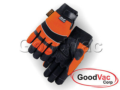 MAJESTIC 2145HOH Heatlok Lined Ski-Dry2 Waterproof Armor Skin Gloves - Size XL