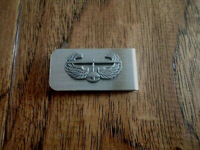 U.s Military Army Air Assault Air Mobile Money Clip  U.s.a Made New In Bags