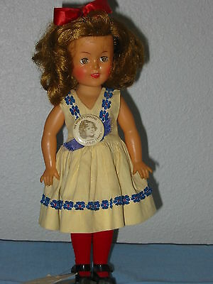 """Shirley Temple Ideal ST-72  doll, 12"""" - Vintage"""