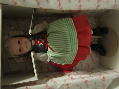 the shirley temple heidi dolls of the silver screen original box with metal stan