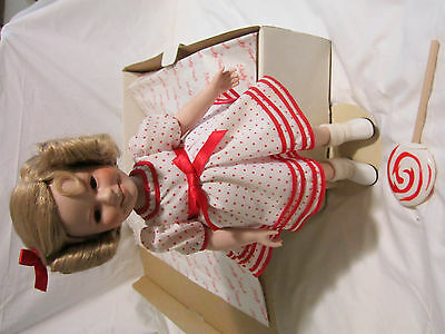 the shirley temple stand up and cheer doll with the metal stand original box