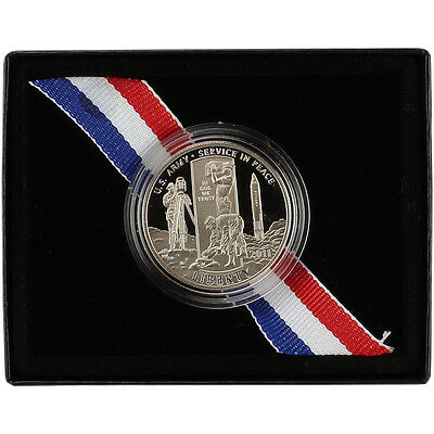 2011-S US Army Commemorative Proof Half Dollar