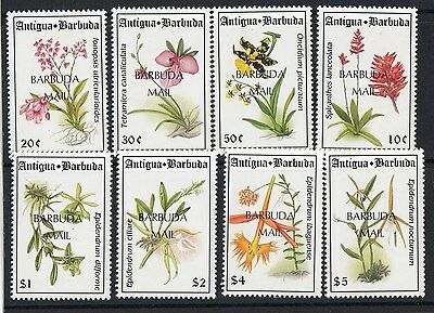 BARBUDA:1993 Flowers set  SG1458-65 unmounted mint