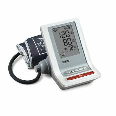 Braun BP4900PH-WE ExactFit Upper Arm Blood Pressure Heart Rate Monitor