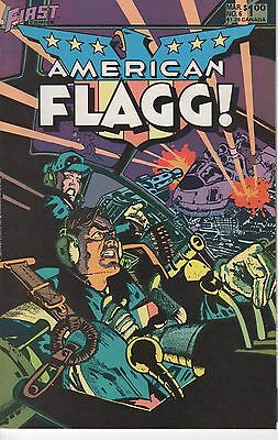 First Comics! American Flagg! Issue 6!