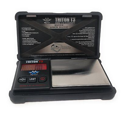 My Weigh Triton T3 660 Precision Pocket Scale 660g x 0.1g Ounce Tough Design