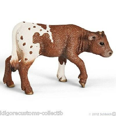 Schleich Texas Longhorn Calf Farm Life Figurine Toy NEW #13684