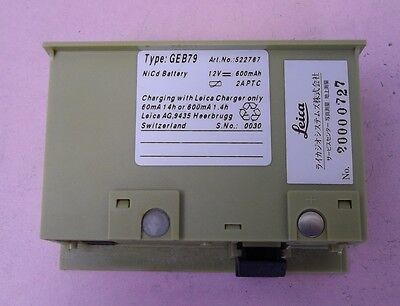 LEICA GEB79 USED BATTERY for Digital Level WILD