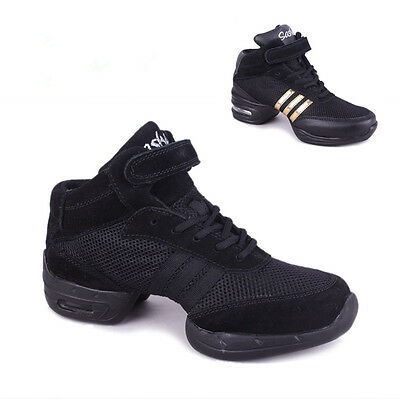 Brand New Unisex Modern Jazz Hip Hop Dance Sneakers Shoes 2 Colors Hot Sell B266