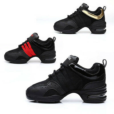 Brand New Unisex Modern Jazz Hip Hop Dance Sneakers Shoes 3 Colors Hot Sell B203